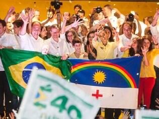 Marina Silva participa de evento de campanha em Recife (PE), no dia 29/9