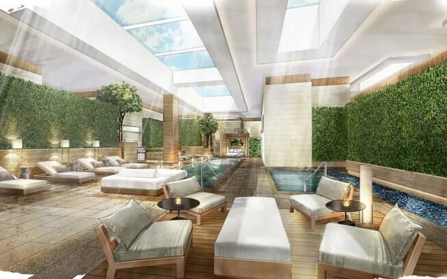 Assim como todo hotel de luxo que se preze, o Hard Rock também conta com um spa para que os hóspedes relaxem