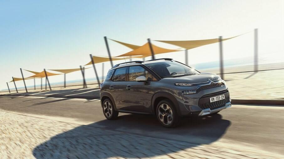 Citroën C3 Aircross:  modelo dá pistas do novo modelo que será lançado no Brasil e em mercados emergentes no fim do ano