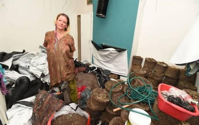 Tanya afirma que encontrou grande quantidade de maconha nos quartos da casa; atualmente, ela aguarda investigações