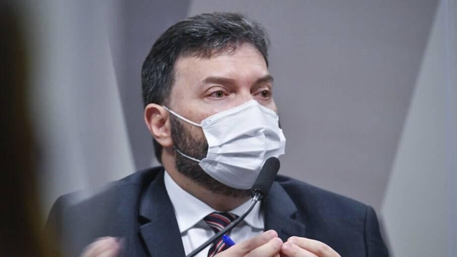 Ex-assessor do Departamento de Logística do Ministério da Saúde, tenente-coronel da reserva Marcelo Blanco da Costa