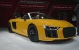 Audi R8 Spyder esbanja beleza no Salão de Nova York