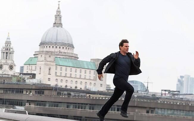 Tom Cruise em cena de Missão: Impossível - Efeito Fallout, que estreia nos cinemas brasileiros nesta quinta-feira (26)