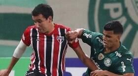 Com gol de Pablo, São Paulo vence clássico contra o Palmeiras