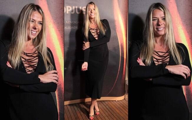 Adriane Galisteu: look sensual