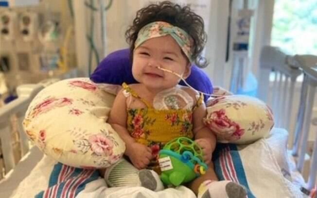 Alexandra foi internada em Nova York em março deste ano, no auge da pandemia de covid-19. Ela ficou quatro meses à espera de um coração para transplante