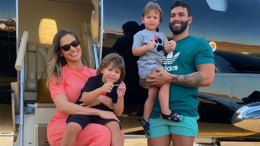 Andressa Suita comenta boatos que estaria grávida de Gusttavo Lima