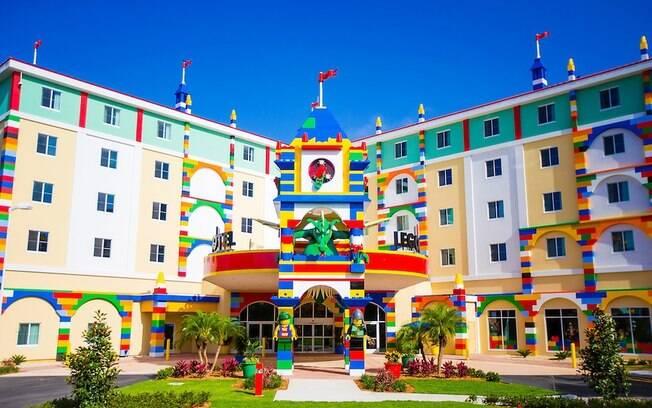 Legoland Resort abre unidade na Flórida, com 152 quartos temáticos e atrações interativas