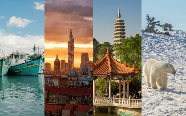 São muitos os lugares para viajar que estão na lista de desejo dos viajantes para 2019 e a maioria não é convencional