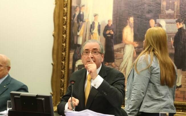 Cunha afirmou na CCJ que a ação que pede a cassação de seu mandato é um
