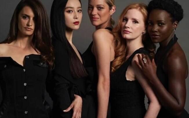 Jessica Chastain reúne elenco estrelado em filme que já tem ofertas altíssimas em Cannes
