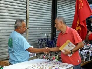 Zé Maria faz campanha no dia 22/7/2014
