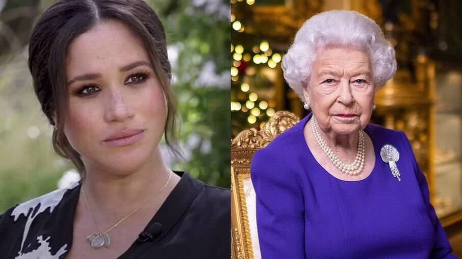 Rainha Elizabeth II está tendo reuniões de gestão de crise desde entrevista de Meghan Markle