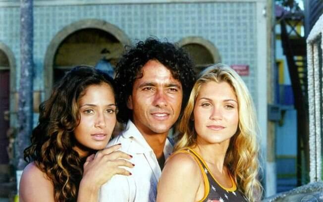 Camila Pitanga, Marcos Palmeira e Flávia Alessandra ilustram a trama