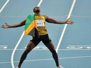 Usain Bolt deixou a impressão de que diminuiu o ritmo nos metros finais da disputa