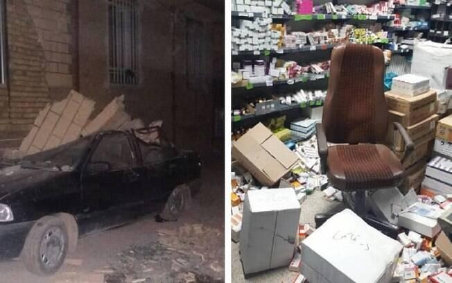 Terremoto no Irã vitimou uma mulher grávida e um idoso na madrugada deste domingo