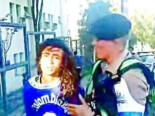 Balanço. Entre forasteiros presos em BH durante mundial, estão colombianos (foto) e argentinos