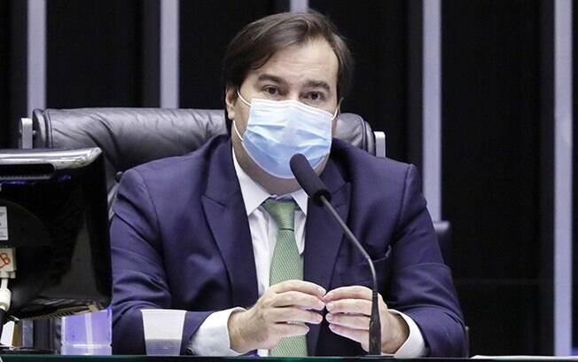 Deputado federal Rodrigo Maia (DEM-RJ), presidente da Câmara