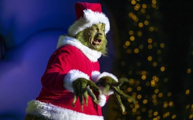Encontre o Grinch enquanto ele tenta roubar a alegria do Natal