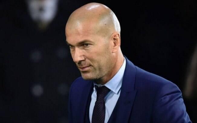 Zinedine Zidane não é mais o técnico do Real Madrid