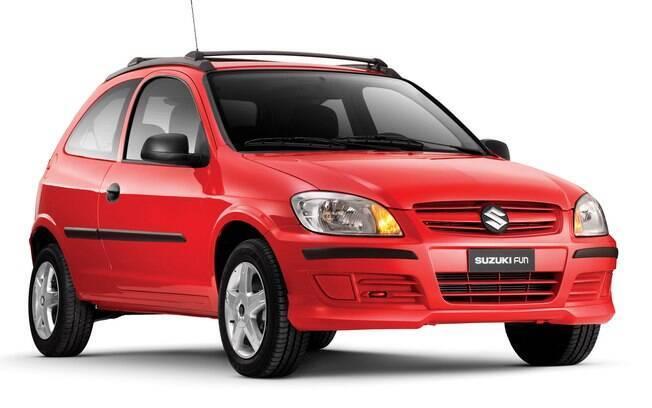Começamos a lista dos carros irmãos com o Suzuki Fun, representante do nosso Chevrolet Celta na Argentina