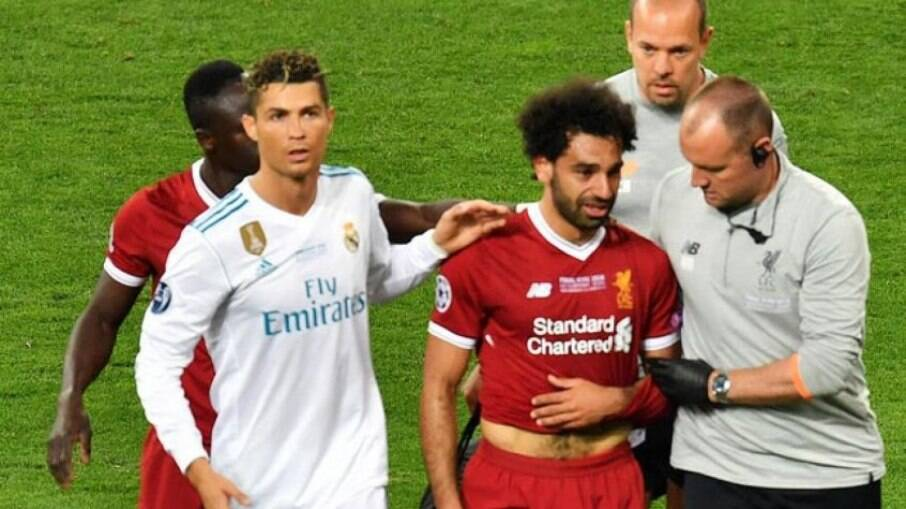 Cristiano Ronaldo e Salah
