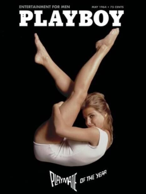 Em 1964, a modelo e atriz Donna Michelle estampou a capa da Playboy