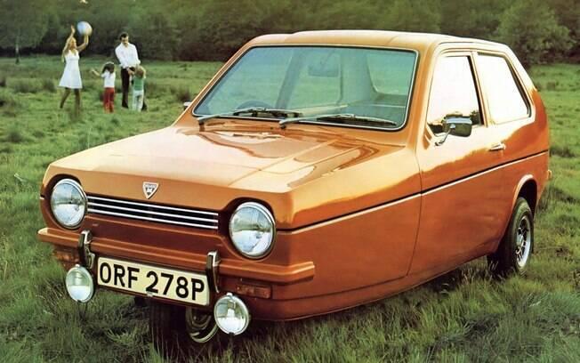 A ideia de ter apenas uma pequena roda na frente é somente um dos fatores do Reliant Robin ser um carro estranho