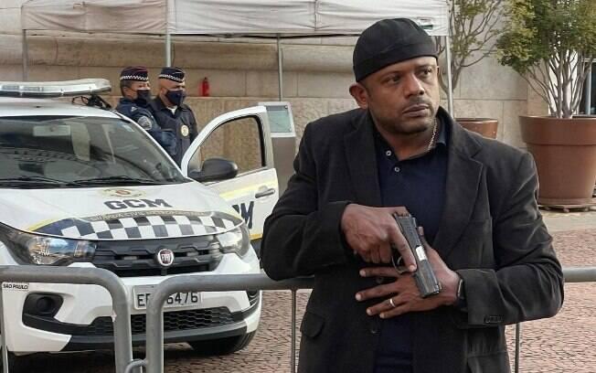 Policial civil Carlos Alberto da Cunha, conhecido como