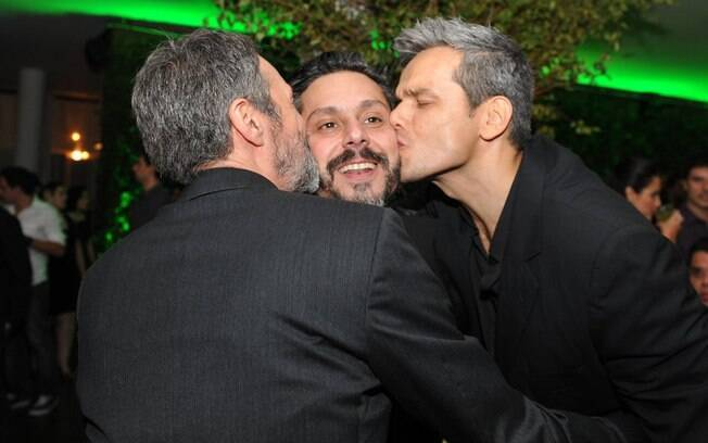 Ricardo Waddington, Alexandre Nero e Otaviano Costa