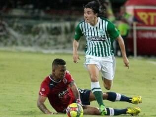 Aos 25 anos, Cárdenas se destacou com a camisa do Atlético Nacional-COL, equipe de Medellín