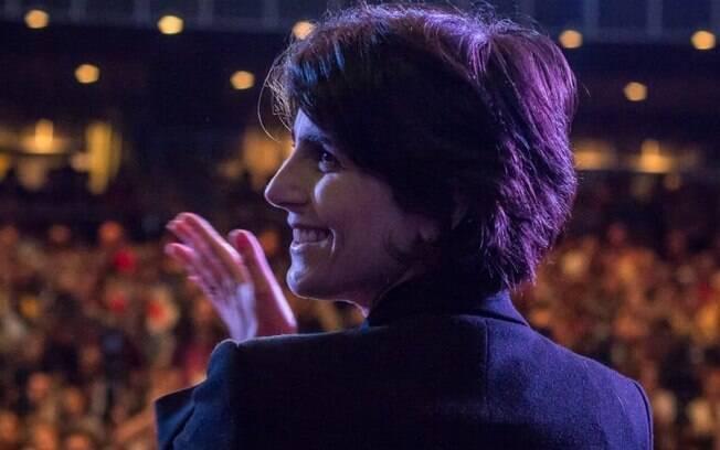 Manuela D'Ávila foi lançada como candidata a vice-presidente pelo PT nesta terça-feira (11)