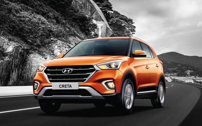 Hyundai Creta 2019: para-choques redesenhados e novos faróis fazem parte das mudanças do SUV compacto