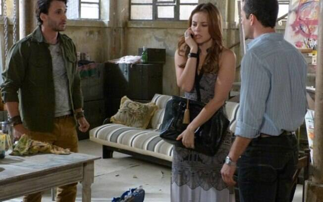 Paloma e Bruno descobrem que Ninho está mantendo Paulinha em cativeiro