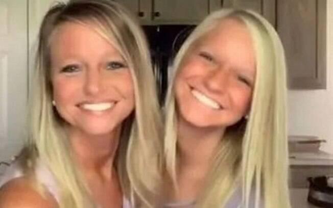 Mãe e filhe parecem irmãs gêmeas e fazem sucesso no TikTok