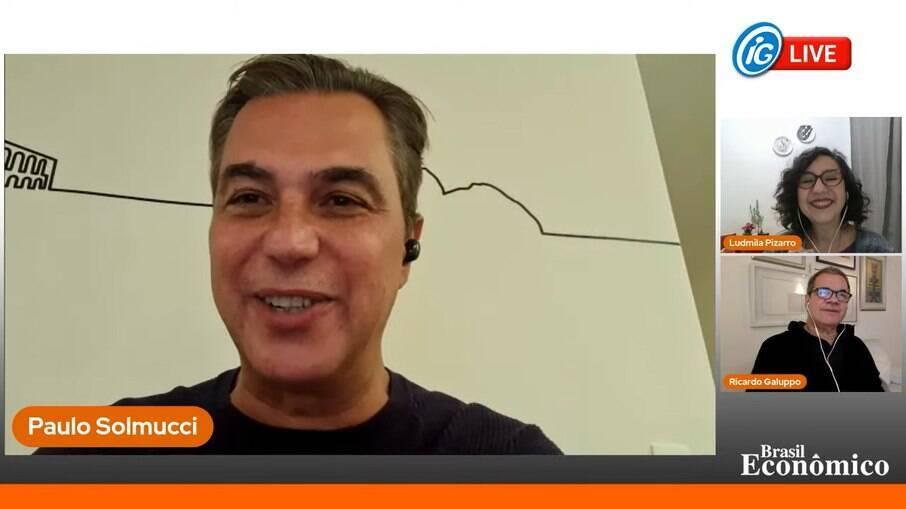 O presidente da Associação Brasileira de Bares e Restaurantes (Abrasel) foi o entrevistado do Brasil Econômico ao vivo desta quinta-feira (13)