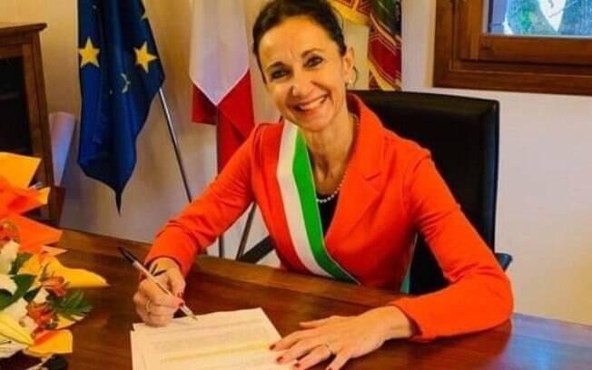 Prefeita de Villa del Conte, Antonella Argenti criou a Secretaria da Solidão