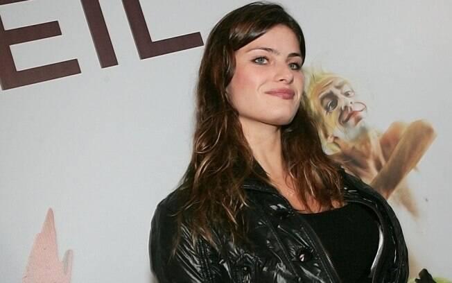 A top model Isabeli Fontana