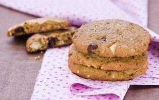 Cookie de chocolate com frutas secas