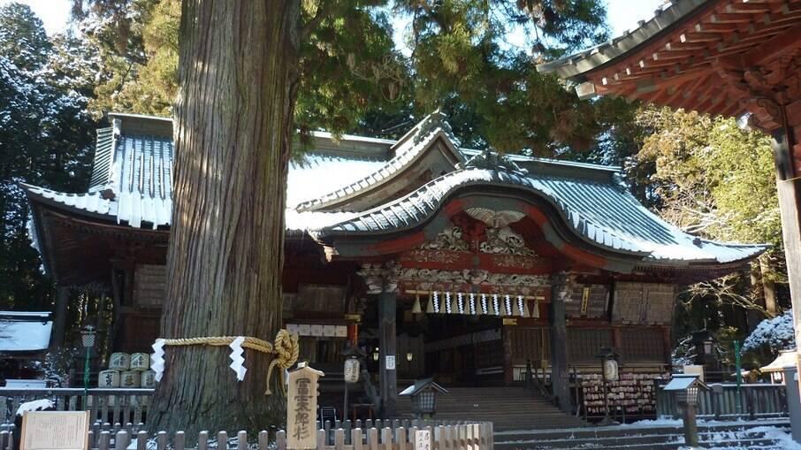 Santuário Kitaguchi Hongu Fuji Sengen-jinja, em Yamanashi