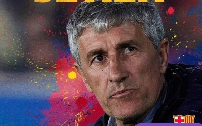 Quique Setién é o novo técnico do Barcelona