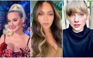 Beyoncé idosa? Divas pop ganham rugas com aplicativo de envelhecimento