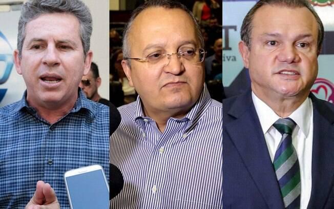 Mauro Mendes (DEM) lidera a disputa com 39% das intenções de voto e pode vencer ainda no primeiro turno, mas Pedro Taques (PSDB) e Wellington Fagundes (PR) tentam impedir