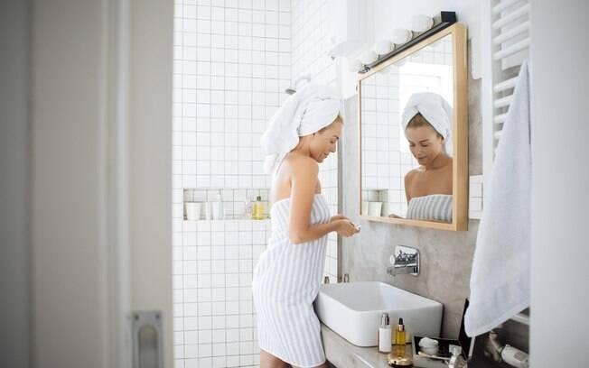 Se você passa muito tempo no banheiro, então esse apartamento pode não ser o ideal para você; leia outras regras