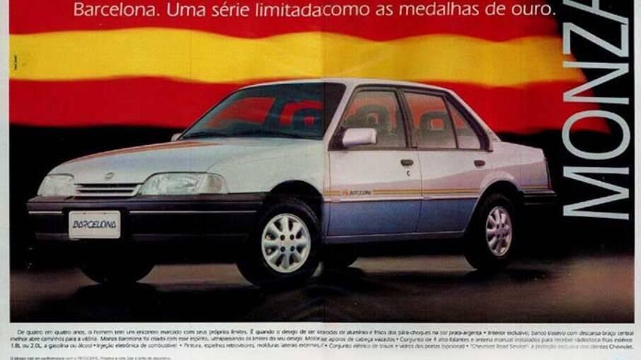 Em 1992, a GM lançava a série exclusiva Barcelona em homenagem aos jogos olímpicos na cidade espanhola.
