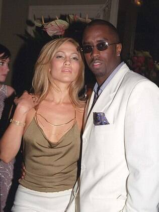 Jennifer Lopez com Sean Combs