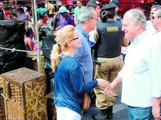Economia. Pimenta da Veiga ressalta a importância para a economia da feira da avenida Afonso Pena