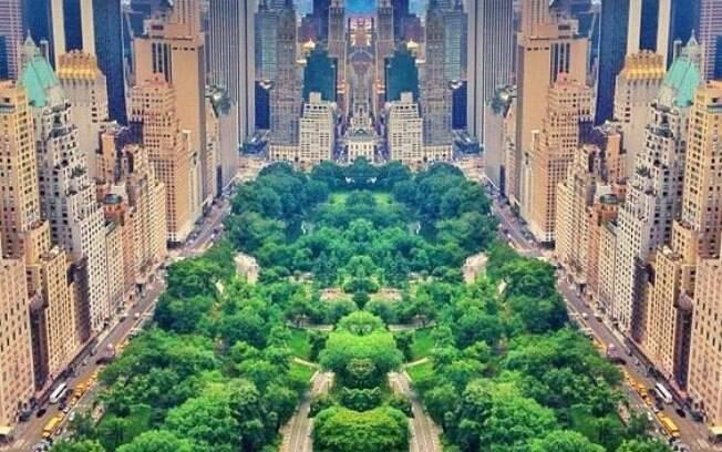Central Park está entre os parques urbanos mais famosos do mundo