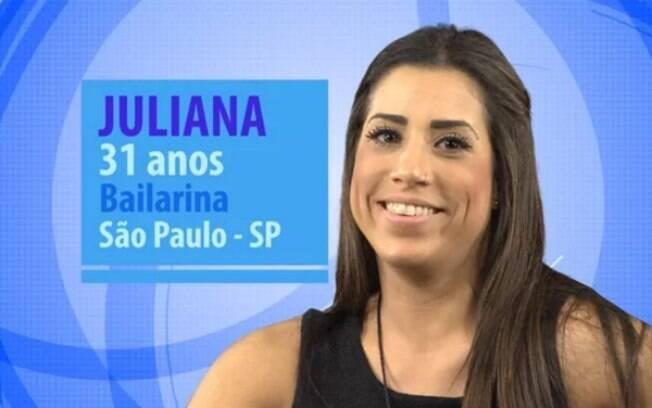 Juliana é bailarina do Leonardo está no