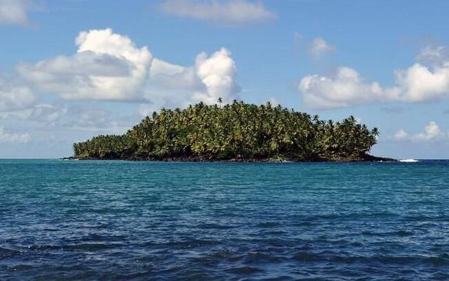 A Ilha do Diabo é muito conhecida por abrigar uma penitenciária no período colonial francês